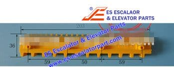 Escalator Part XAA455S3 Step Demarcation