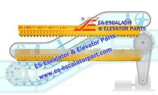 Escalator Part XDDM4086 Step Demarcation