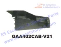 OTIS GAA402CAB-V21 Handrail Inlet