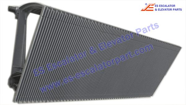 KONE KM5212512H04 Step 100 silver paint ECO3000
