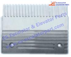 Sidewalk Comb Plate