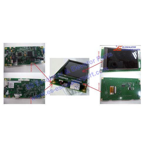 Mitsubishi Elevator Display and PCB for LOP P366723B000G11