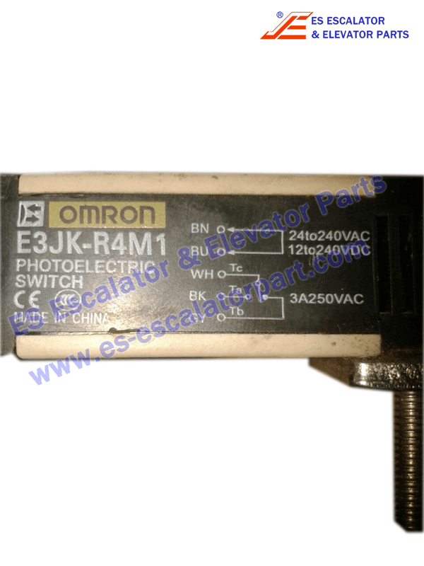 OMRON Photoelectric sensor model E3JK-R4M1 24 For Thyssen