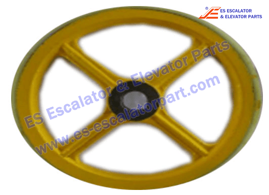 Sigma Escalator Handrail Friction Wheel ASA00B046*C OD458mm*ID45mm