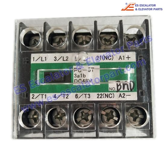PC-5T-3A1B-DC48V Elevator contactor