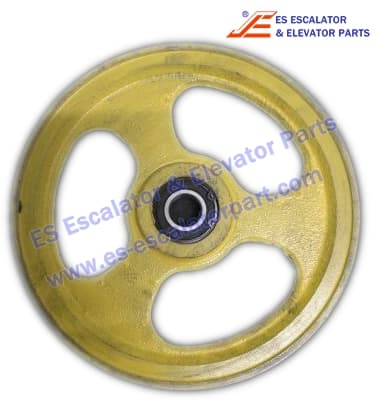 Kone KM602135G01 Overspeed Governor Tension Wheel D=198mm d=6mm