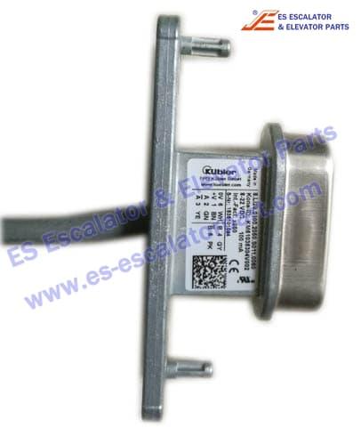 KONE Elevator KM51035304V001 SENSOR HEAD CABLE ASSY L2=4M