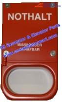 Escalator DEE2465023 Emergency stop handle