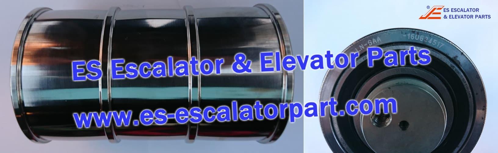 Elevator DAA266N CAR/CWT suspension pulley Gen2