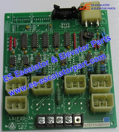 ThyssenKrupp elevator PCB LSIF20-3 A (Ver1.2)