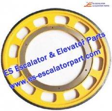 Escalator Friction wheel 587x330x30 M10/12