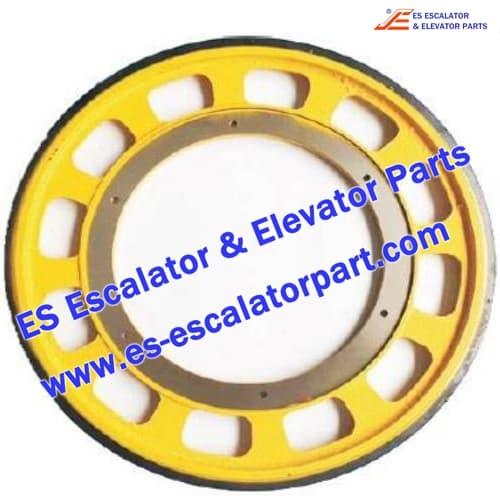 Schindler escalator Friction wheel 587x330x30 M10/12