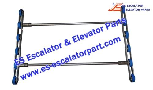 otis escalator step chain XAA26150X19 2 fold unit