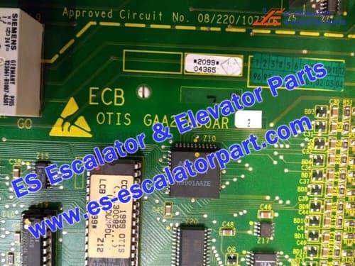 otis escalator GAA26800AR2 Control plate