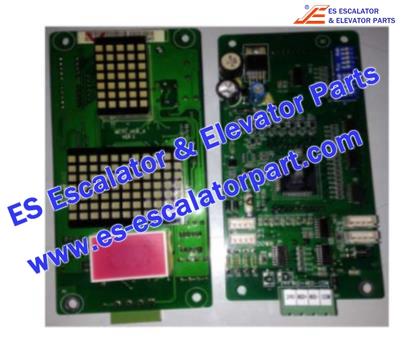 SJEC MCTC-HCB-A Hall Indicator PCB