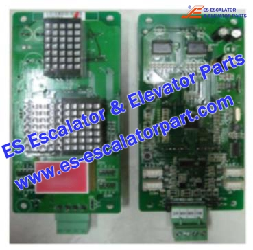 SJEC MCTC-HCB-J Hall Indicator PCB