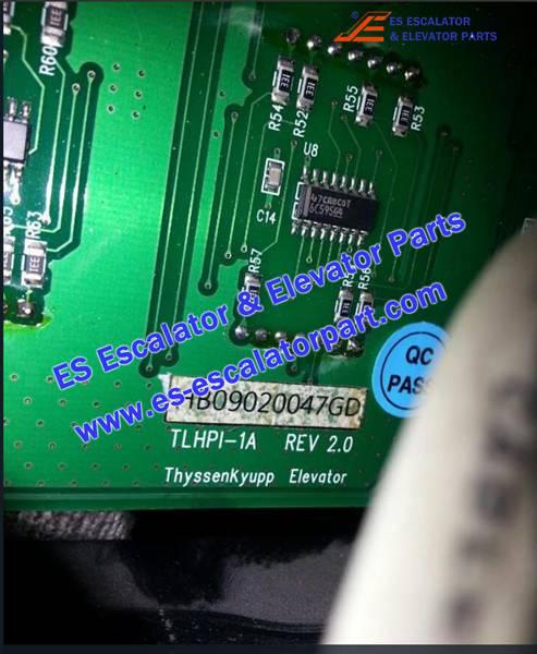 Thyssenkrupp Elevator TLHPI-1A Display Board