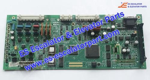 OTIS Elevator GCA26800KF1 control board MCB-III