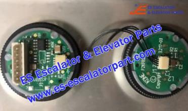 KONE Elevator button F2KFB2