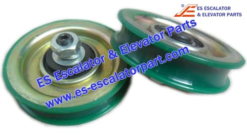 KONE Elevator KFKM86226G01K Hanger Roller 85mm*19mm*M10