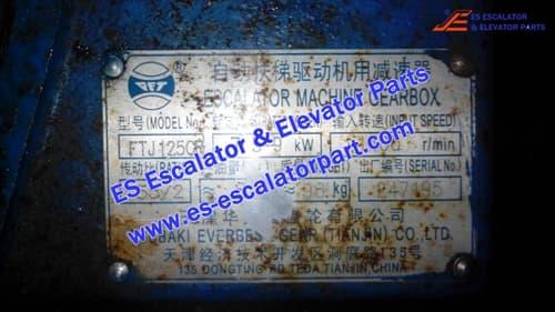 OTIS Escalator FTJ1250R Machine Gearbox
