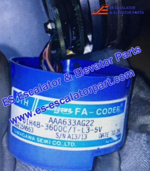 Otis Elevator Encoder AAA633AG22