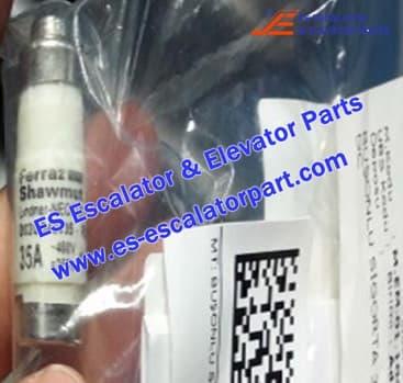 THYSSEN Escalator TUGELA 945 cartridge fuse-35A-400V AC-250V DC