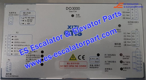 XIZI OTIS Elevator DO-3000 door box