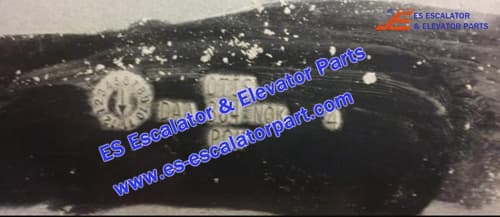 OTIS Escalator DAA384NQK4 Entry handrail
