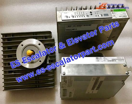 Schindler Elevator Parts 59307333 DOOR MOTOR IDD32.001 VERSION SE SERIAL