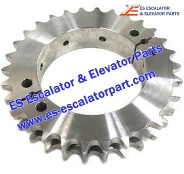 Schindler Escalator Parts SR360805 Split Sprocket 30 Teeth