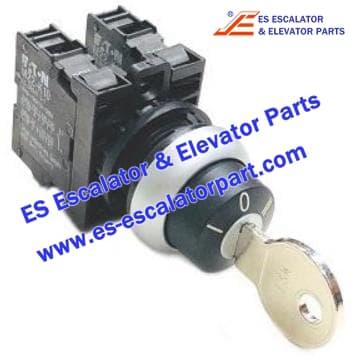 Escalator Parts CLQ9703 MS1 Keyswitch