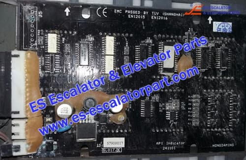 Schindler Elevator Parts 57910069 API Indicator