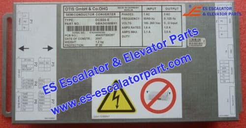 Escalator Parts DCSS5-E Door box