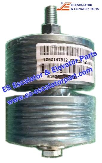 ESSchindler Elevator Parts 59315475 Belt guide pulley