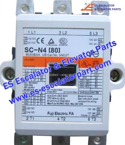 Hitachi Elevator Parts SC-N4[80] Elevator Contactor