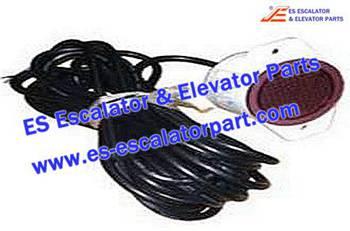 Escalator Parts 8801000141 Escalator Traffic Light HY-JTD-2 DC24V