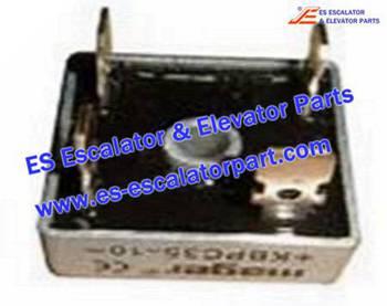 Thyssenkrupp Escalator Parts 8800500007 GBPC2508 Rectify Bridge