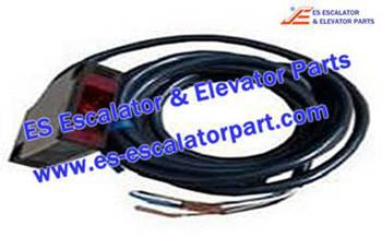 Escalator Parts 8800400049 Photoelectric switch OMRON-E3JK-5M2