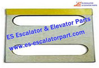 Thyssenkrupp Escalator Parts 1736006500 Glass trunking