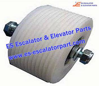 Thyssenkrupp Escalator Parts 1709739600 Roller with Hollow shaft kit