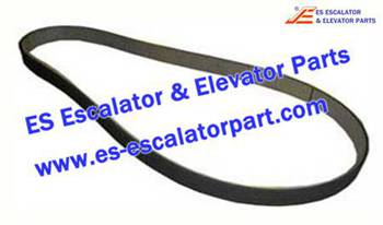 Thyssenkrupp Escalator Parts 1709724700 V-belt 12PL1841