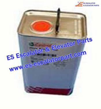 Thyssenkrupp Escalator Parts 1705827200 Step chain lubrication oil 150 Kluber