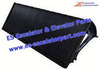 Thyssenkrupp Escalator Parts 1705816500 ECOAluminum step