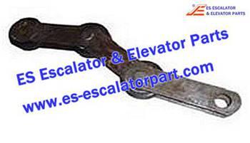 Thyssenkrupp Escalator Parts 1705777500 Singular Step Chain
