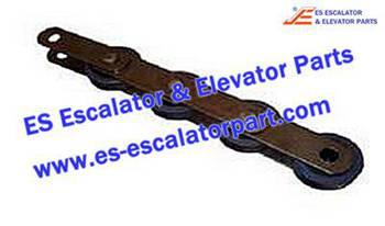 Thyssenkrupp Escalator Parts 1705777100 Step Chain