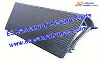 Thyssenkrupp Escalator Parts 1705770800 Aluminum step