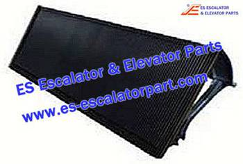 Thyssenkrupp Escalator Parts 1705770900 Aluminum step