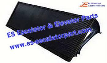 Thyssenkrupp Escalator Parts 1705768700 Aluminum step