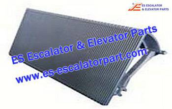 Thyssenkrupp Escalator Parts 1705768600 Aluminum step